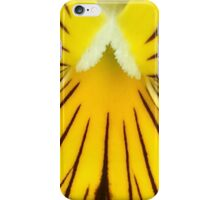 Yellow And Brown Pansy Flower iPhone Case/Skin