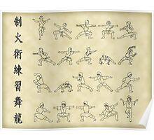 The Dancing Dragon Poster
