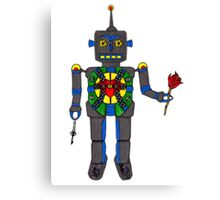 Robot Love Canvas Print