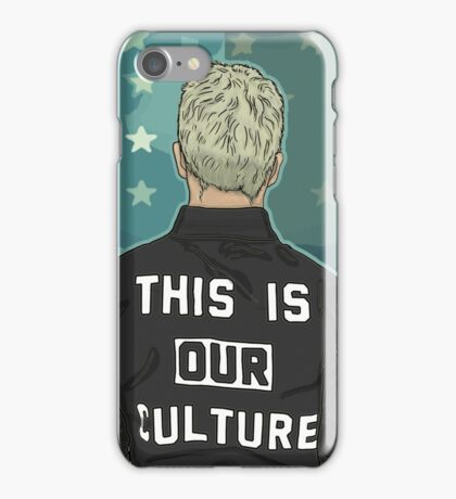 Pete Wentz - THIS IS OUR CULTURE iPhone Case/Skin