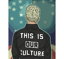 Pete Wentz - THIS IS OUR CULTURE Photographic Print