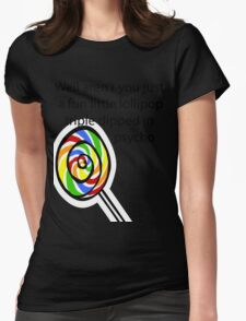 Lollipop Psycho Womens Fitted T-Shirt
