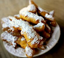 Beignet Fingers from Coffee Call, Baton Rouge, Louisiana by Scott Mitchell