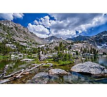 Treasure Lakes Photographic Print