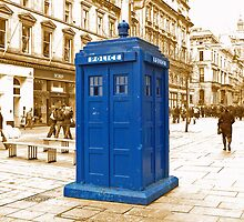 The Tardis  by Rob Hawkins