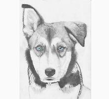 Husky Shepherd Cross with Blue Eyes T-Shirt