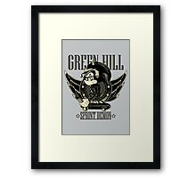 Green Hill Sprint Demon - Prints, Stickers, iPhone and iPad Cases Framed Print