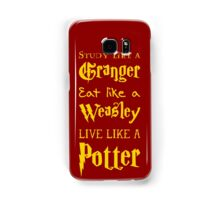 Live Like a Potter Samsung Galaxy Case/Skin