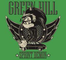 Green Hill Sprint Demon Baby Tee