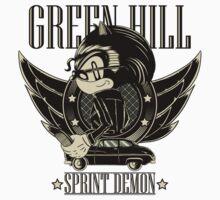 Green Hill Sprint Demon Kids Clothes