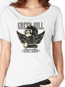 Green Hill Sprint Demon Women's Relaxed Fit T-Shirt