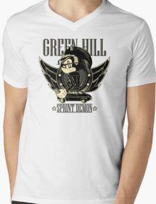 Green Hill Sprint Demon Mens V-Neck T-Shirt