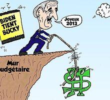 BIDEN tient Bucky au mur budgétaire by Binary-Options