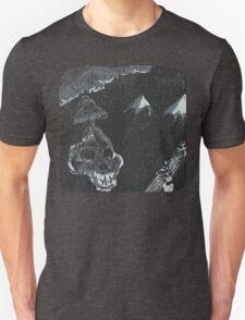 Skeleton Dude Playing Guitar Unisex T-Shirt