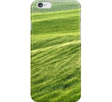 Field of Greens-Siena, Italy iPhone Case/Skin