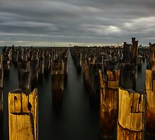Pier into the Past by Keith Irving