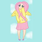 Human Fluttershy by RileyOMalley