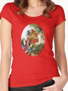 Female Cardinal Women's Fitted Scoop T-Shirt