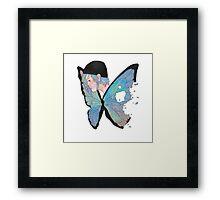 Chloe Price Butterfly Framed Print