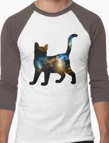 CELESTIAL CAT 2 Men's Baseball ¾ T-Shirt