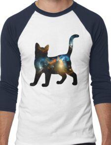 CELESTIAL CAT 2 Men's Baseball ¾ T-Shirt