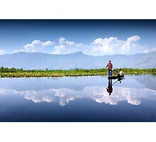Dal Lake, Kashmir Photographic Print