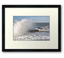 Stormy weather.... Framed Print