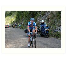 Dan Martin - Garmin Sharp,  Tour de France 2012 Art Print