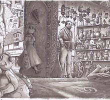 Typical corner shop!!  in my world  by Jowy