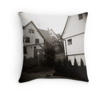 { foggy morning } Throw Pillow
