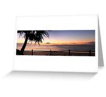 Sunrise Seven Mile Beach - Lennox Head NSW Greeting Card