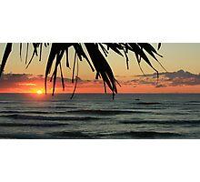 Sunrise Seven Mile Beach - Lennox Head NSW Photographic Print