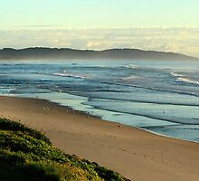 Seven Mile Beach - Lennox Head NSW by OzNatureshots