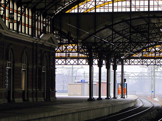 Railway station 'Holland Spoor' by Hans Bax