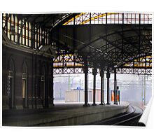 Railway station 'Holland Spoor' Poster