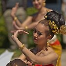 Thai Dancers by Werner Padarin