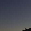 New moon of death valley by MichaelBr