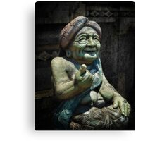 The old lady of Kapal ... Bali  Canvas Print