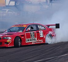 British Drift Championship - Patrick Ritzmann (Germany) - BMW M3 Toyota by motapics
