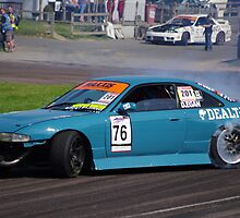 British Drift Championship - D.Egan - Nissan 200SX Cosworth by motapics
