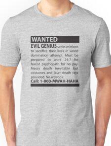 Minions Wanted Unisex T-Shirt