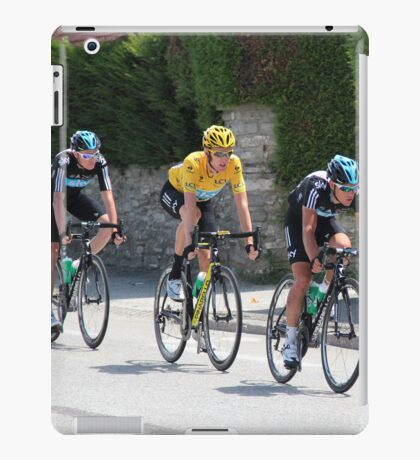 Wiggins and Team Sky - Tour de France 2012 iPad Case/Skin