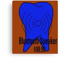 Bluetooth Speaker Canvas Print