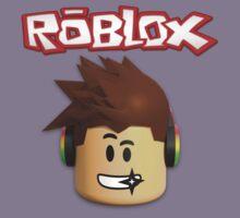 Roblox Character Head Kids Tee