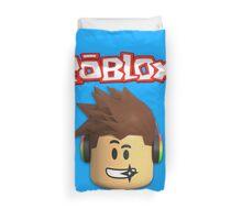 Roblox Character Head Duvet Cover