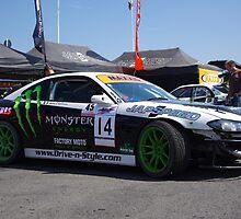 British Drift Championship - Japspeed Pit - Shane O'Sullivan - Nissan Silvia S15 by motapics