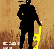 Metal Gear Solid : Snake Eater Minimal Poster by TheDorknight
