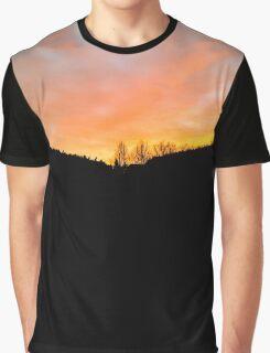 Orange Sunrise Graphic T-Shirt