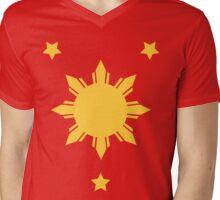 Tatak Pinoy 3 Mens V-Neck T-Shirt