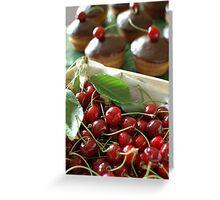 Cherry bonbon Greeting Card